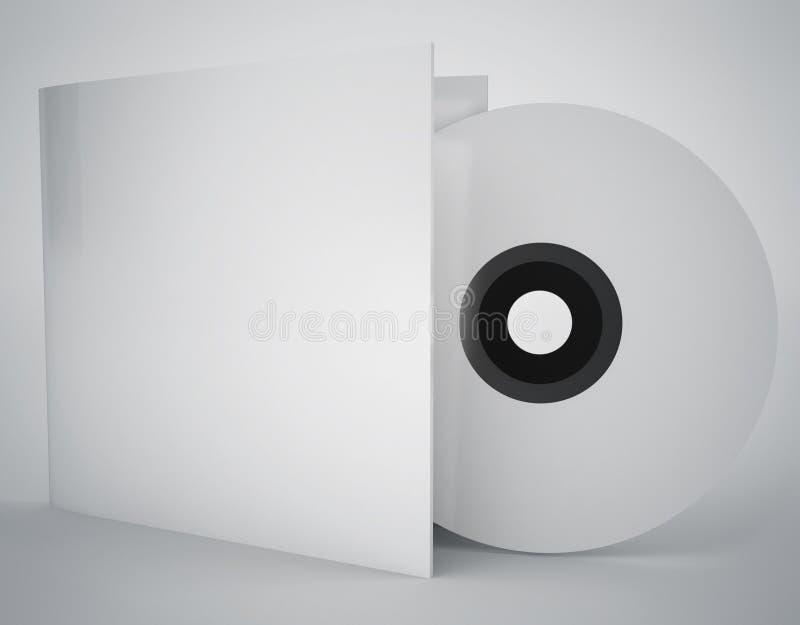 Meios do CD ilustração do vetor