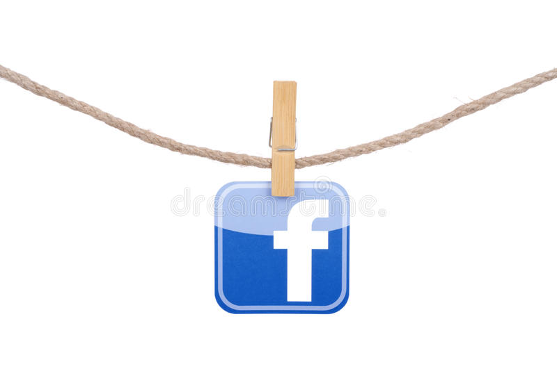 Meios sociais populares fotos de stock