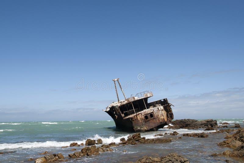 Meisho Maru Wreck, lizenzfreie stockfotos