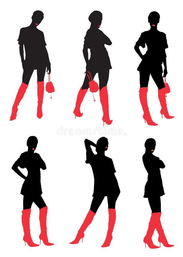 Download Meisje vector illustratie. Illustratie bestaande uit vector - 10777541