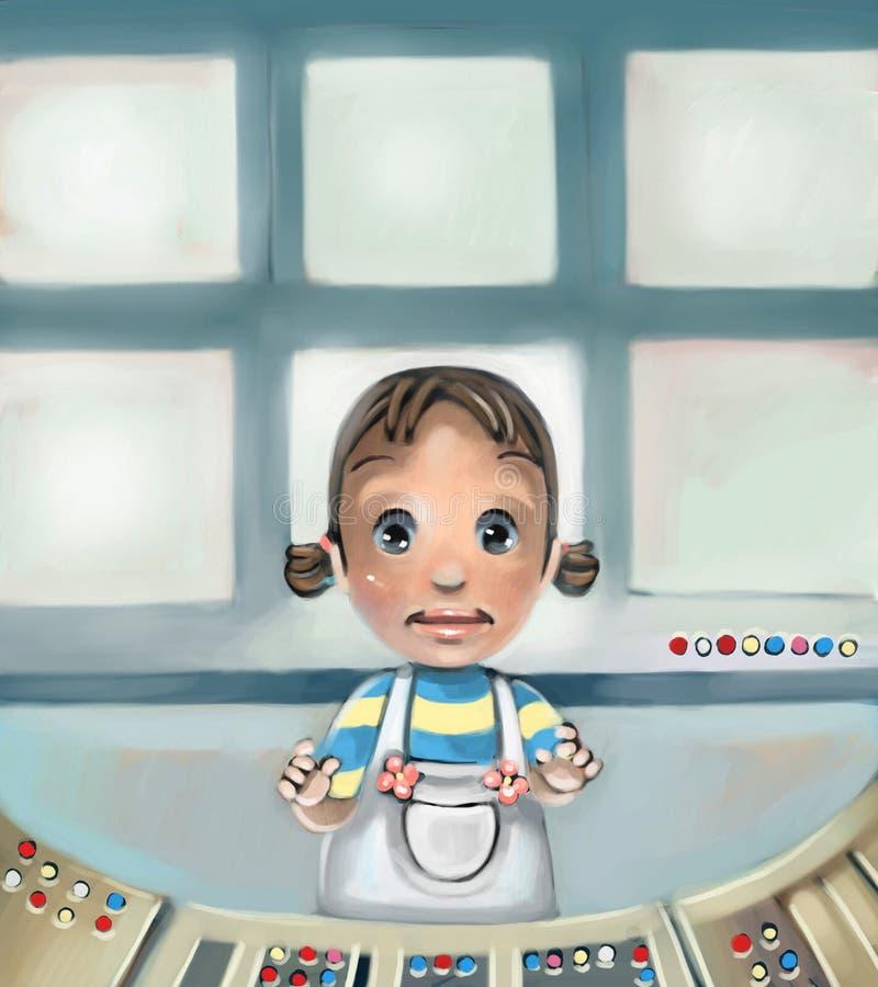 Meisje vector illustratie