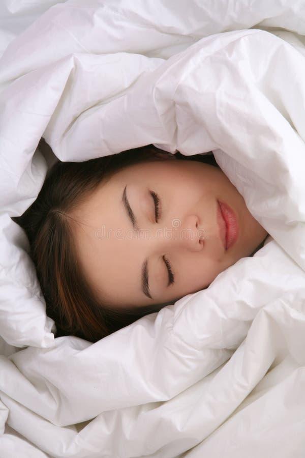 Meisje in Algemene Slaap royalty-vrije stock afbeelding