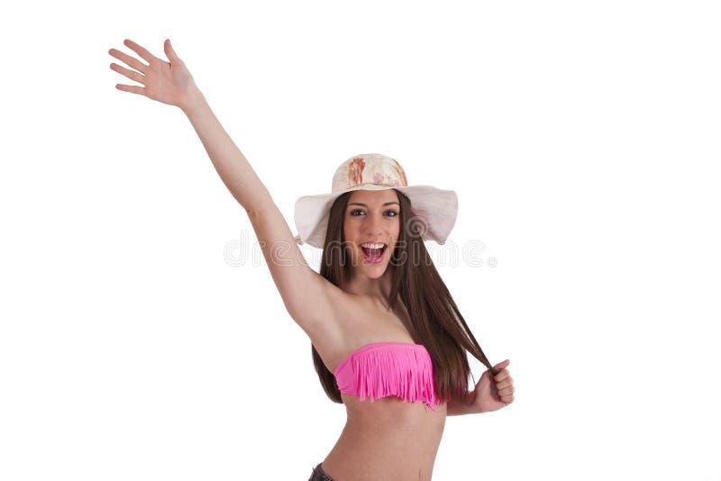 Download Meisje in Bikini stock afbeelding. Afbeelding bestaande uit persoon - 54087755