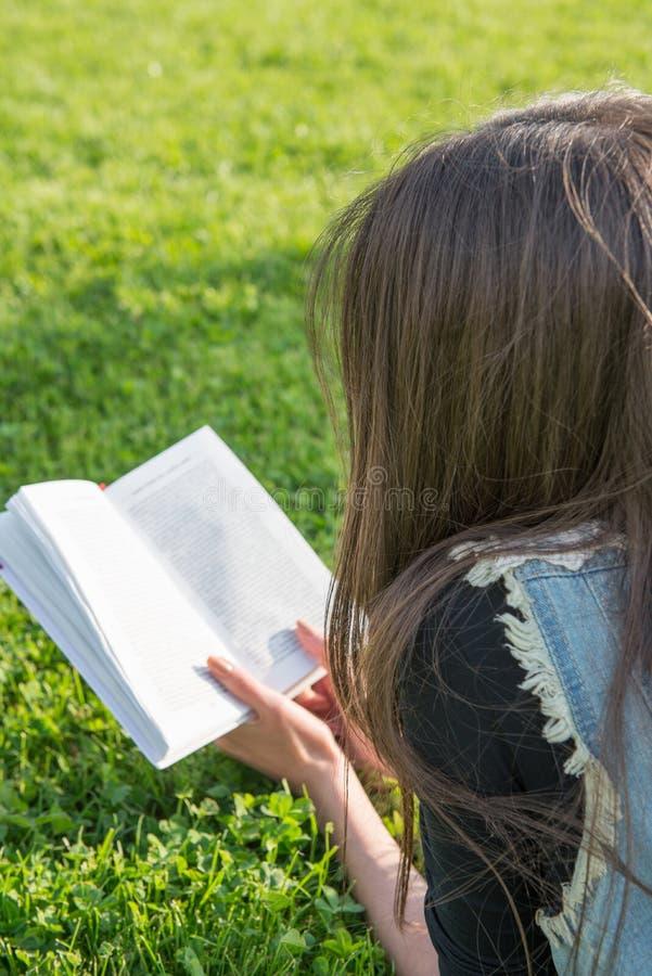 Download Meisje dat een boek leest stock foto. Afbeelding bestaande uit amerikaans - 54075328