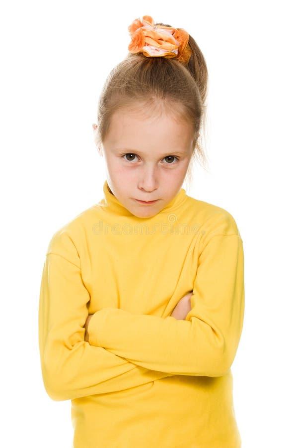 Download Meisje Die Beledigd Groot Nemen Stock Foto - Afbeelding bestaande uit gekrenkt, glans: 29503434