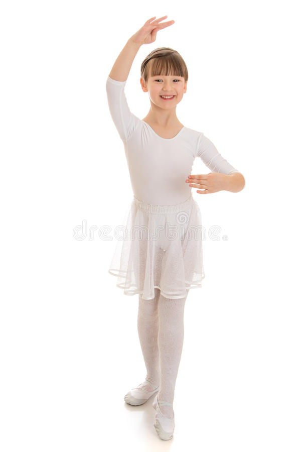 Meisje het dansen stock foto