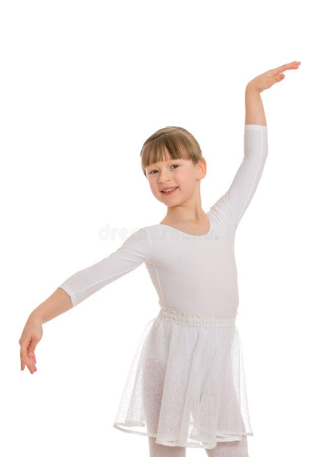 Meisje het dansen royalty-vrije stock fotografie