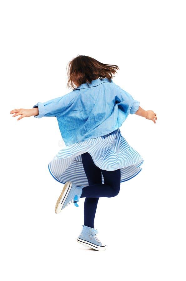 Meisje het dansen stock afbeeldingen