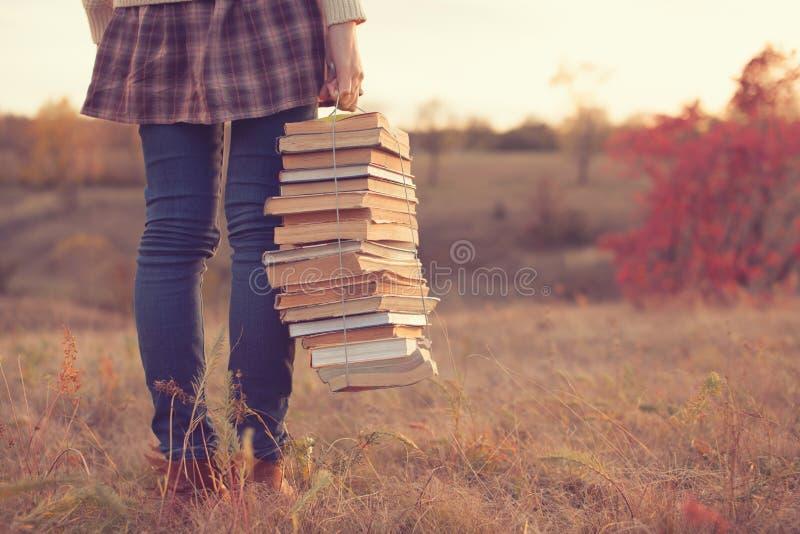 Meisje met boeken