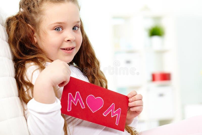 Meisje met kaart royalty-vrije stock afbeeldingen