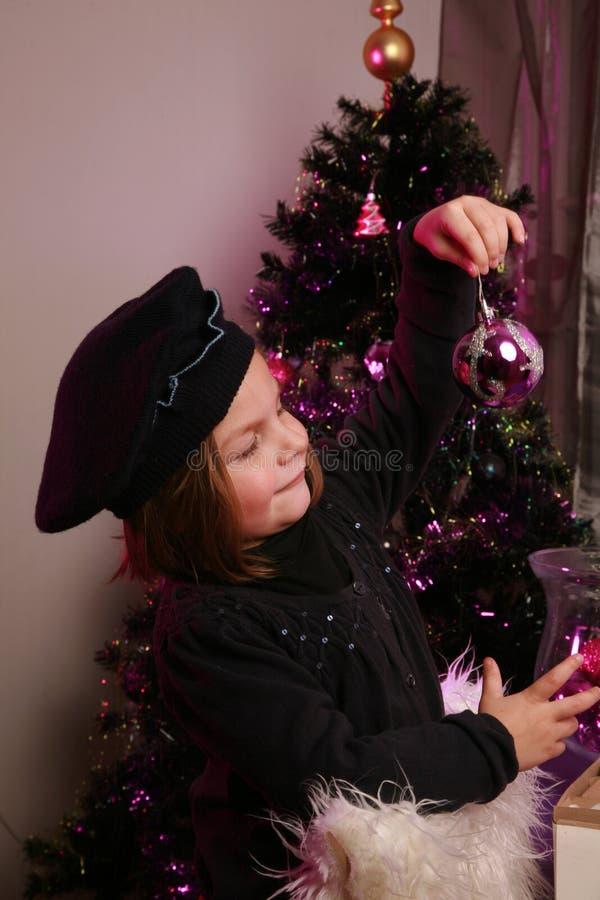 Meisje met snuisterij royalty-vrije stock afbeelding
