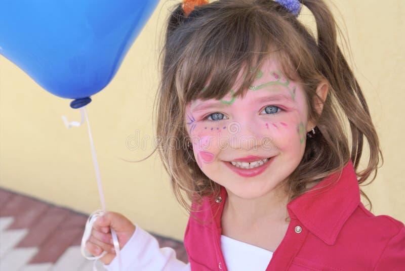 Meisje op Partij. stock fotografie