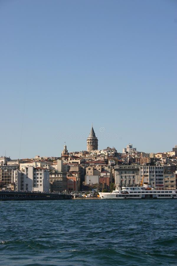 Meisje ` s toren-Istanboel-Turkije stock fotografie