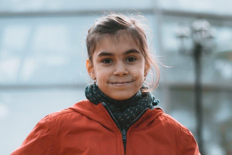 Meisje stedelijk portret royalty-vrije stock afbeeldingen