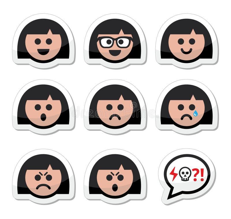 Image Sawamura Angry Png: Meisje Of Vrouwengezichten, Avatar Geplaatste Pictogrammen