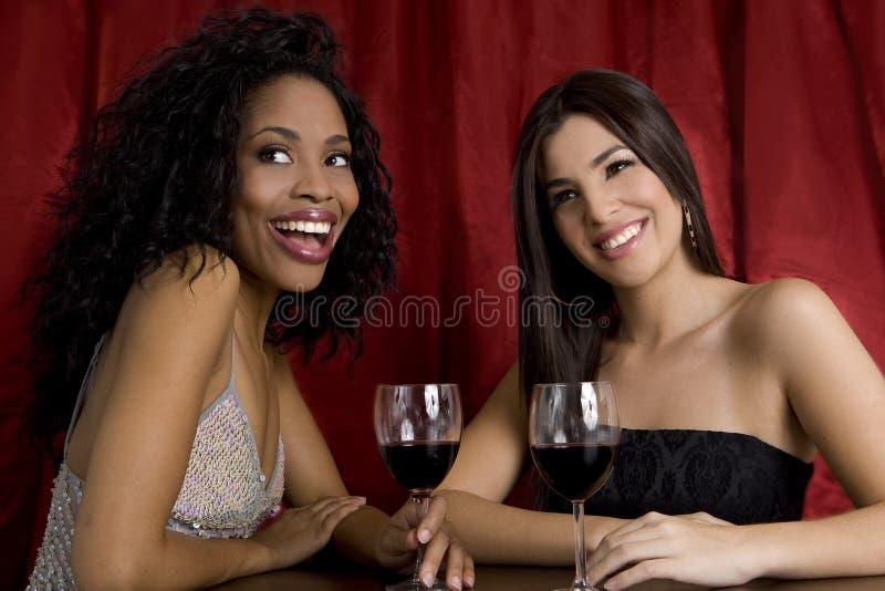 Meisjes in een club