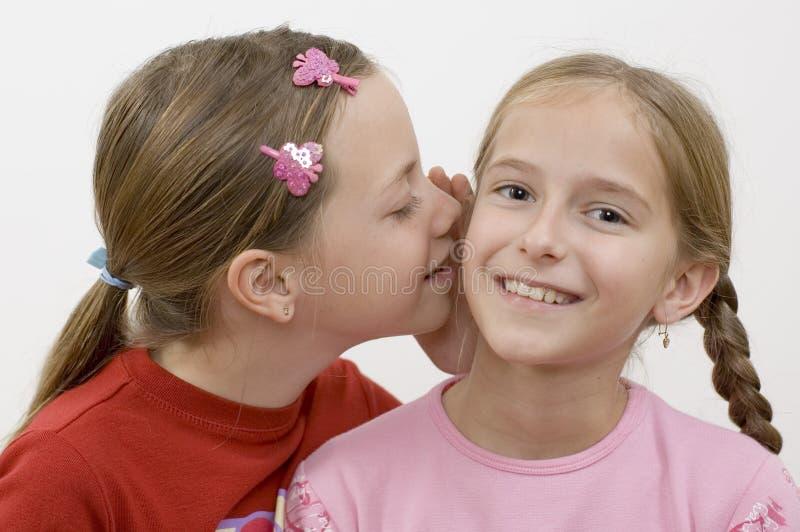 Download Meisjes/roddel stock foto. Afbeelding bestaande uit klappen - 285660