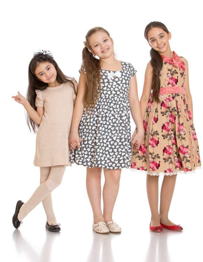 Meisjes status stock foto's