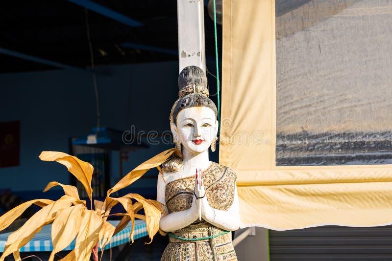 Meisjesklei Thailand stock afbeelding