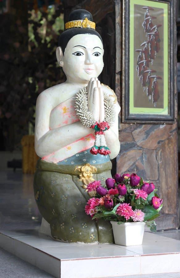 Meisjesklei Thailand (Doll heten Thailand welkom) stock afbeelding
