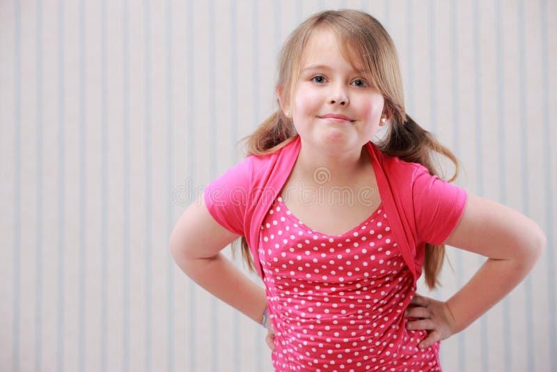 Meisjesportret royalty-vrije stock foto