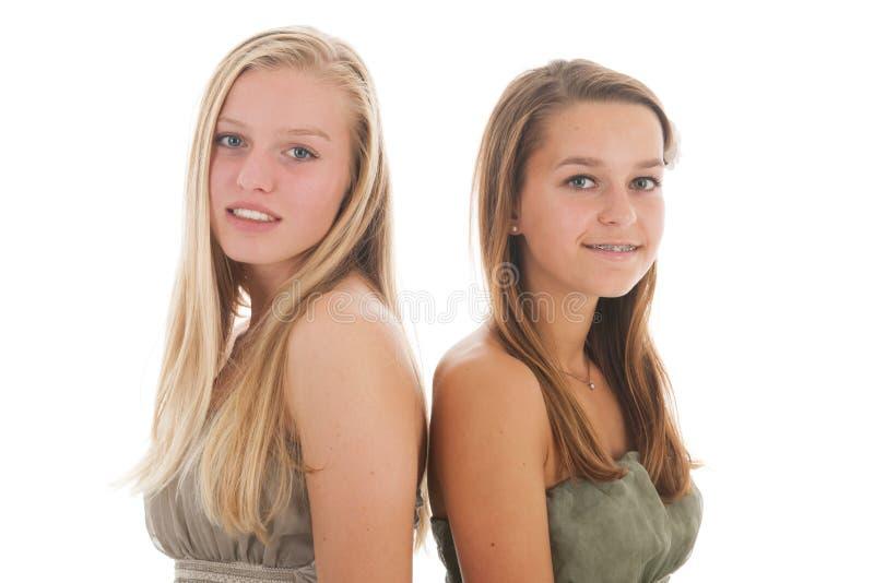 Meisjesportret royalty-vrije stock afbeeldingen