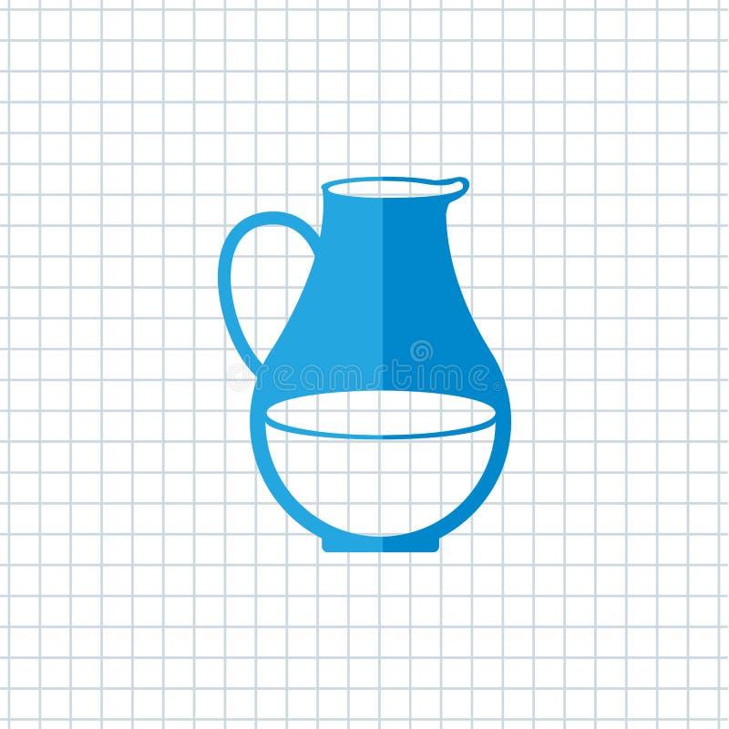 mejeriproduktdesign stock illustrationer