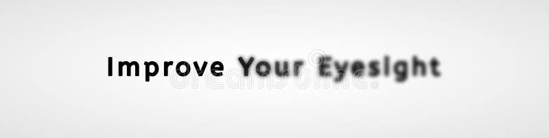 Mejore su vista libre illustration