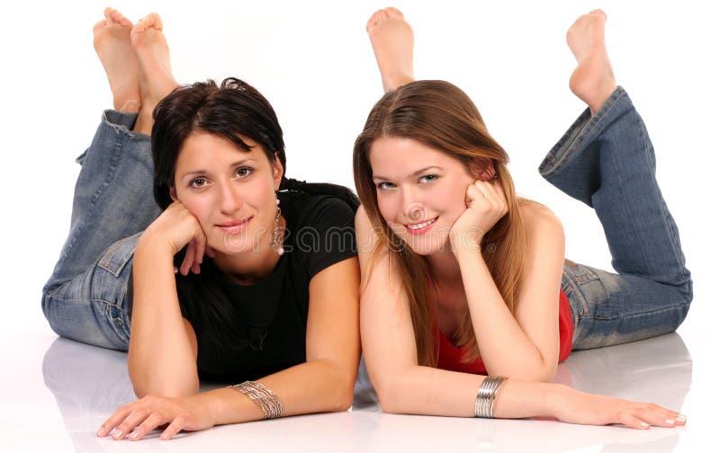 Download Mejores amigos imagen de archivo. Imagen de best, caucásico - 1285873