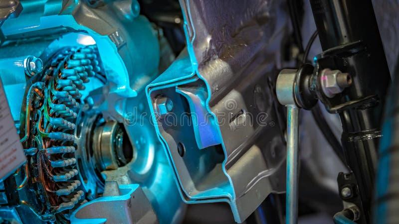 Mekaniska delar för kugghjulmotreaktionmotor royaltyfria bilder