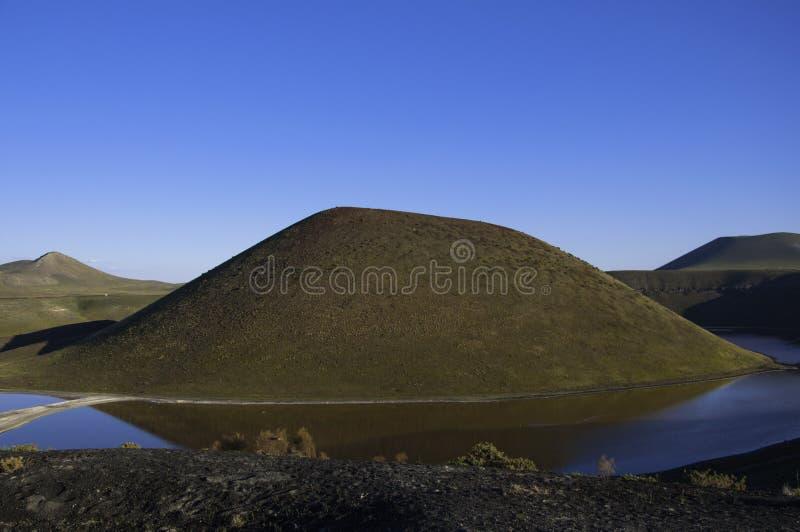 Meke kratersjö arkivbild