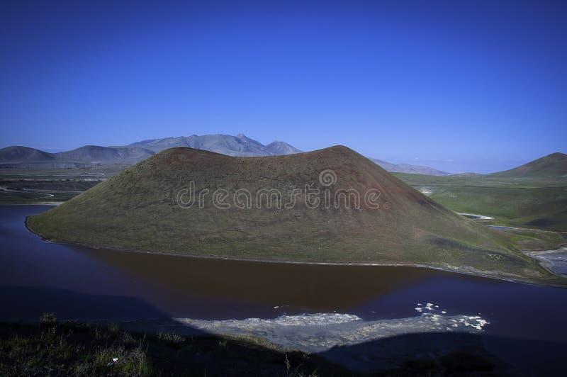 Meke kratersjö arkivbilder