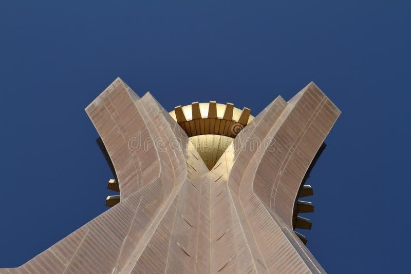 Mekele的纪念碑在埃塞俄比亚 免版税库存照片