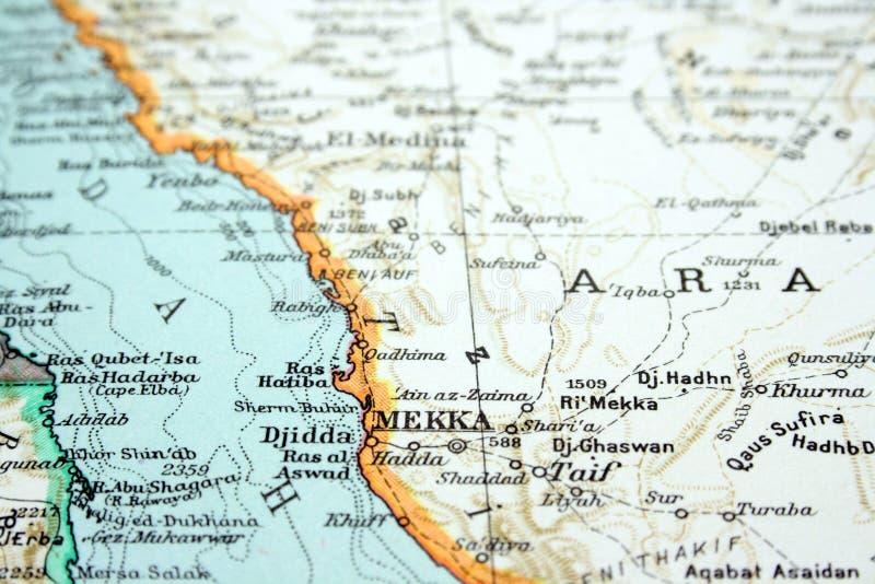 Mekka, Arabia Saudita fotografia stock libera da diritti