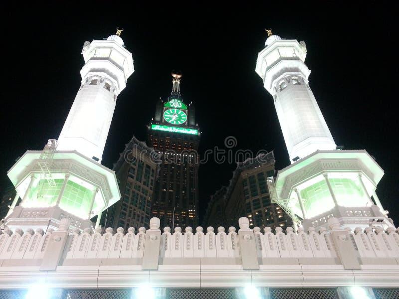 Mekka - Gr Masjed Gr Haram royalty-vrije stock foto's