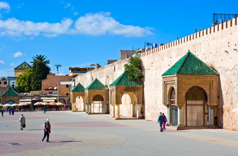 meknes Марокко стоковое изображение