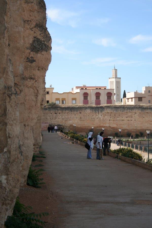 Meknes City stock photo