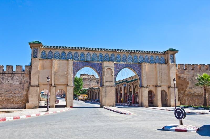 Meknes Marocco 2010 fotografia de stock royalty free
