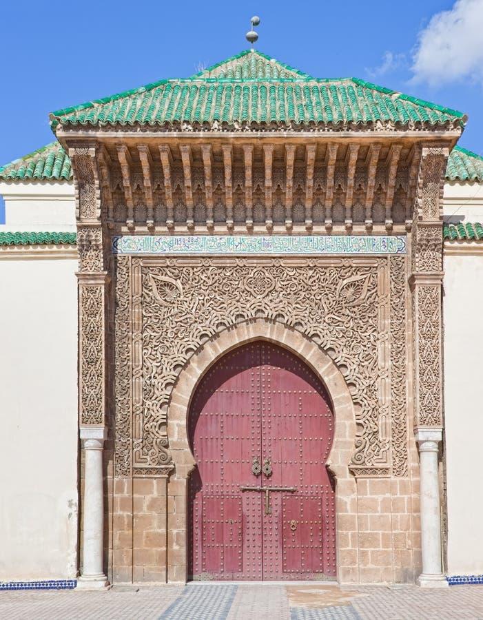 Meknes Marocco 2010 foto de stock royalty free