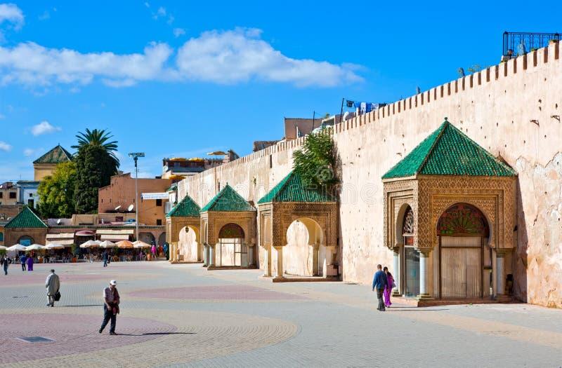 Meknes Marruecos imagen de archivo