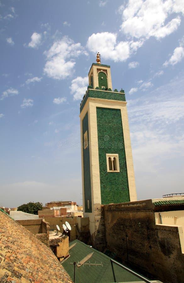Download Meknes minaret stock image. Image of great, mosque, morocco - 24373603