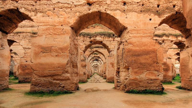 Meknes w Maroko fotografia royalty free
