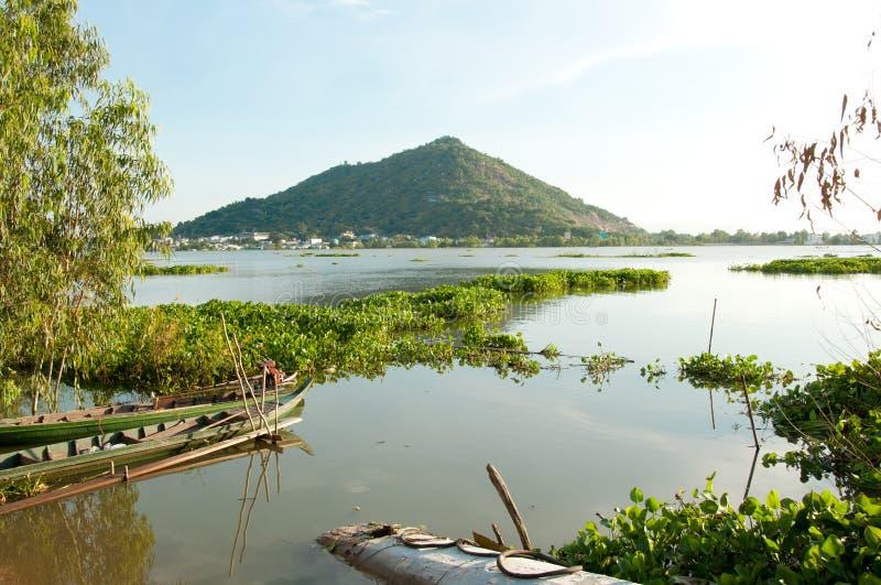 Mekong delta w Wietnam obraz royalty free