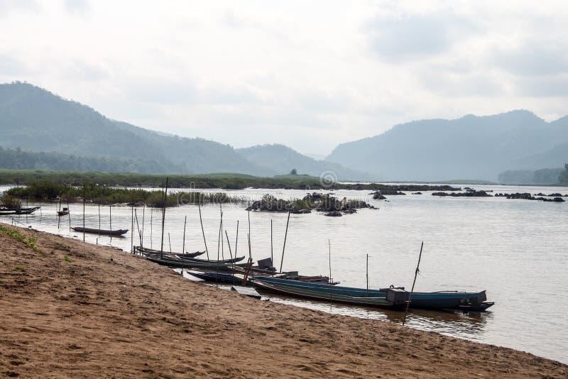 Mekong mening stock fotografie