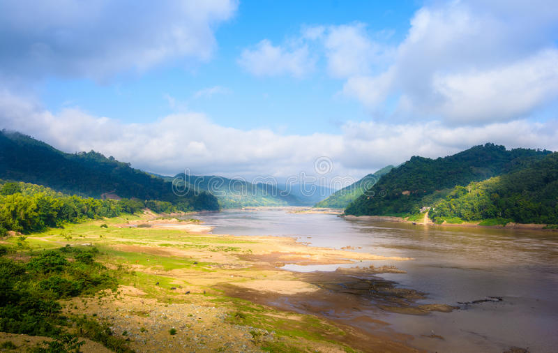 Mekong River foto de stock royalty free