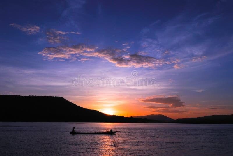 Mekong River royaltyfria foton