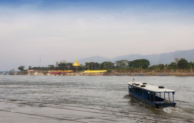 Mekong River Thailand arkivfoton