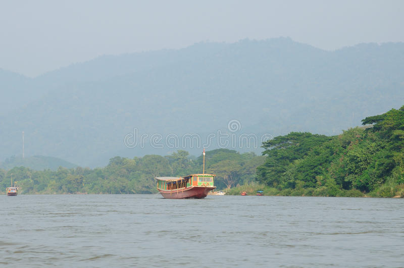 Mekong River Thailand royalty free stock images