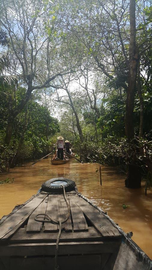 Mekong rivier royalty-vrije stock foto