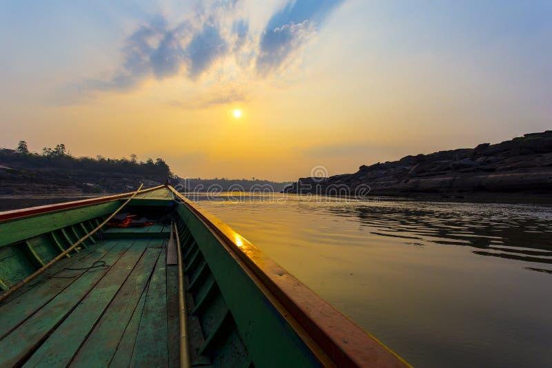 Mekong rzeczny rejs obraz royalty free